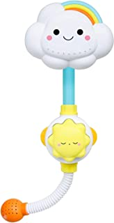 AMERTEER Baby Bath Toy, Lovely Cloudy Bathtub Shower Toy Water Spray Head Game for Toddlers Kids (Only Stick on Smooth Sur...