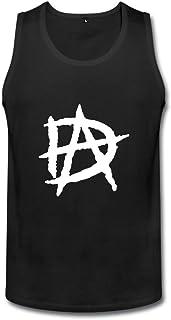 メンズ ファッション プロレスラー ディーン アンブローズ ロゴ タンクトップ カジュアル Black