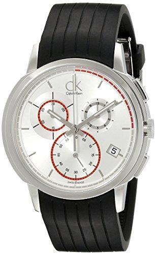 Calvin Klein K1V27926 - Reloj cronógrafo de caballero de cuarzo con correa...
