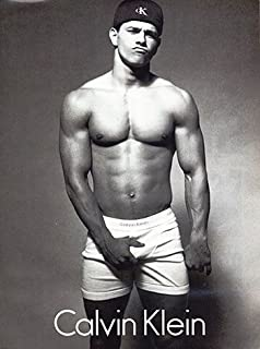 Photo Calvin Kline Movie Star Mark Wahlberg Underwear Photo