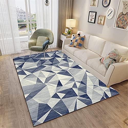 Kunsen alfombras Lavables Salones Alfombra de Dormitorio Rectangular Moderna a Prueba de Humedad antiincrustante Lavado de Agua Suelo Exterior terraza 180X280CM 5ft 10.9' X9ft 2.2'