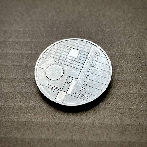 *** Silbergedenkmünze: Bauhaus Dessau, 2004