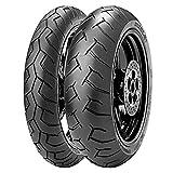 Coppia gomme pneumatici Pirelli Diablo 120/70 ZR 17 58W 180/55 ZR 17 73W