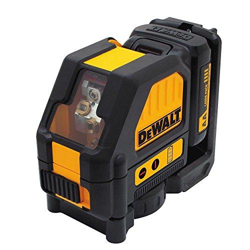 DEWALT 12V MAX Cross Line Laser, Red (DW088LR) Lasers Line