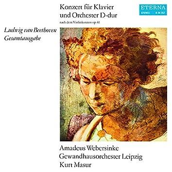 Beethoven: Konzert für Klavier und Orchester D-Dur