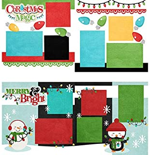 Two Printed Layouts - Christmas Magic & Merry and Bright - 2-2 Page 12