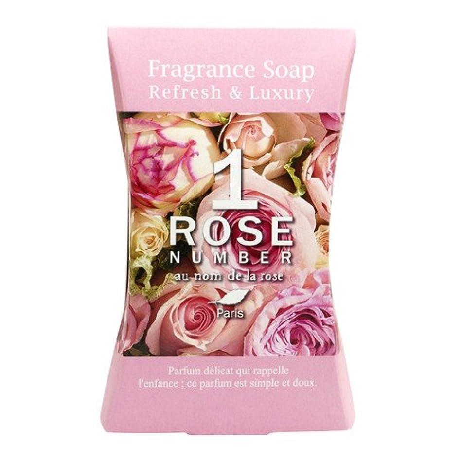 ROSE NUMBER ソープバー NO1 ピュアなバラの香り (100g)