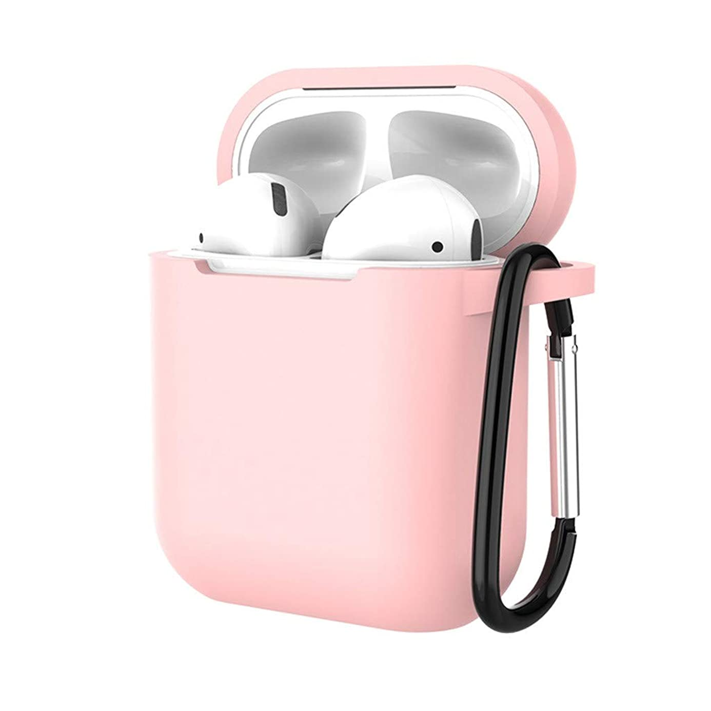 YRD TECH Case Protective Silicone Cover and Skin with Ear Hook for Apple AirPods, Best Gift for Girls and Women