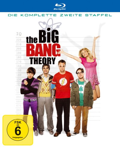 Cover The Big Bang Theory - Die komplette zweite Staffel [Blu-ray]