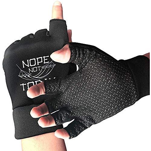 Nope Today Jagdhandschuhe Rutschfester halber Outdoor Sports Workout Short Glove