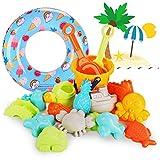 ARANEE Juguete de Playa 20 Piezas Conjunto de Juguetes para la Playa, Bolsa de...