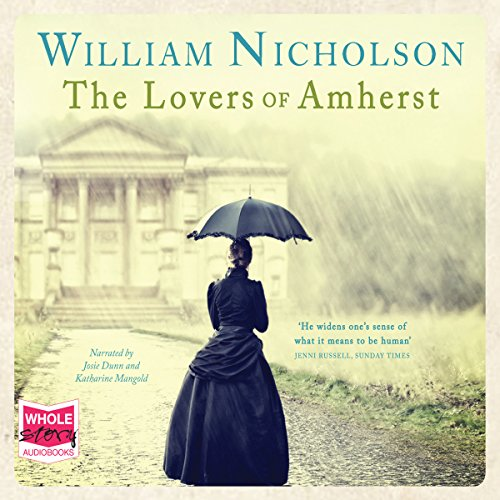 The Lovers of Amherst audiobook cover art
