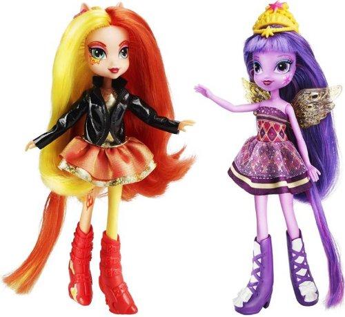 My Little Pony Equestria Girls - Pack de 2 muñecas, Twilight y Sunset