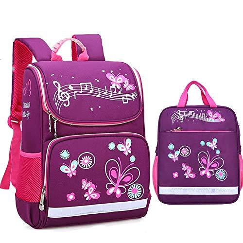 Schultaschen für Kinder, Anzüge für Mädchen, Rucksäcke für Jungen, Schultaschen, Schultaschen für Kinder, Rucksäcke - kleines blaues Set, 1