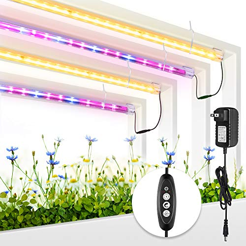 Roleadro Grow Light for Indoor Plants, 3500K& Red Blue Full Spectrum...