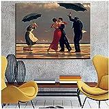 djnukd Edward Hopper Famoso Lienzo De Pintura Carteles E Impresiones Abstractos Modernos Cuadro De Arte De Pared para Sala De Estar Decoración del Hogar 60X80Cmx1 Sin Marco