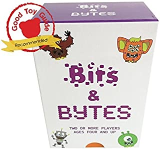Bits and Bytes Coding Game for Kids | The innovative card game and STEM toy. Teaches children the fundamentals of computer programming ● Ages 4-9 ● Fun for boys and girls. A great learning gift