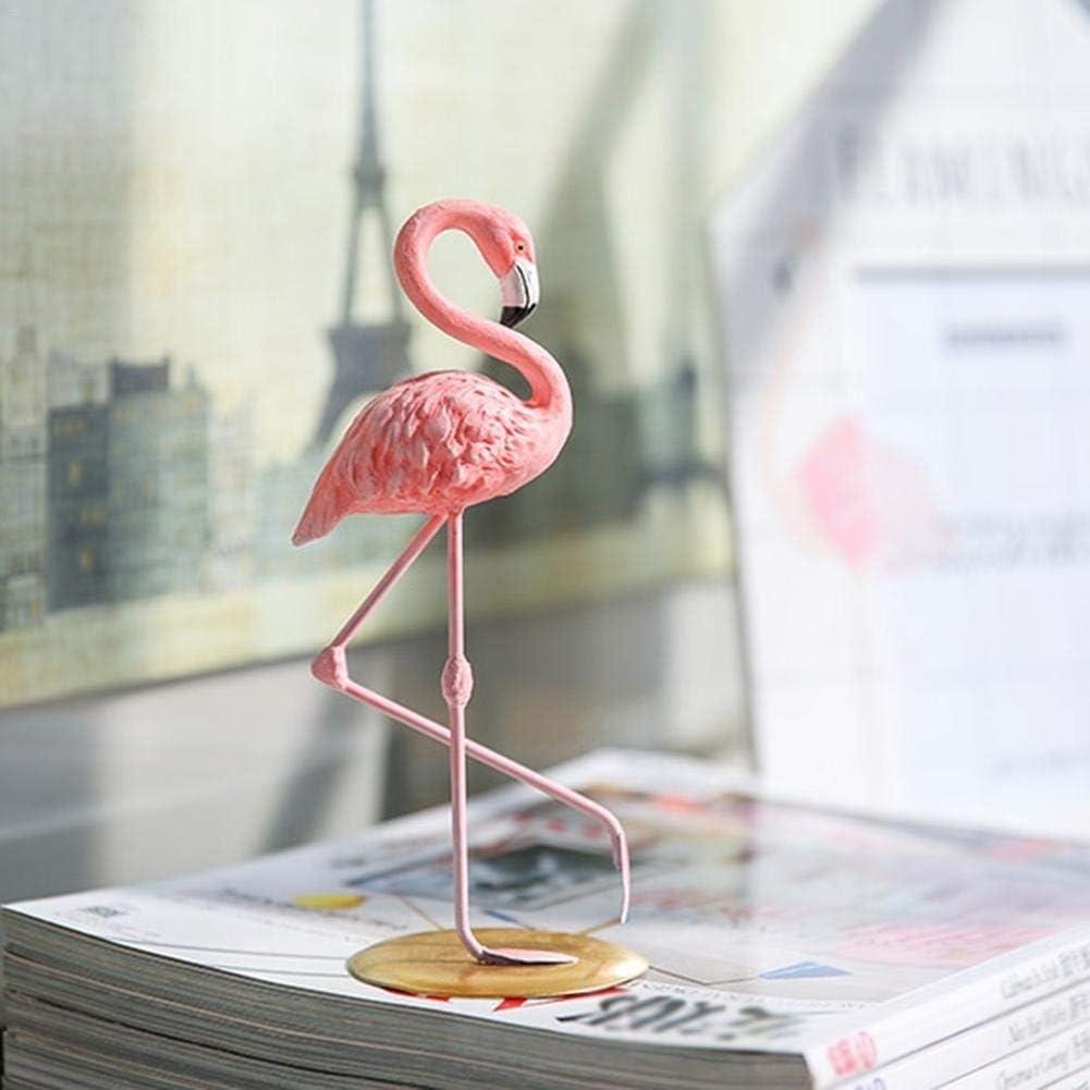 per casa idea regalo Statuetta decorativa in resina fenicottero camera da letto ufficio decorazione artigianale soggiorno ragazza da donna comodino Mallalah