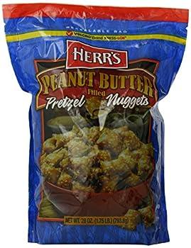 Herr s Peanut Butter Filled Pretzels 28 Ounce