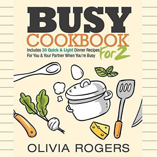 Busy Cookbook for 2 audiobook cover art