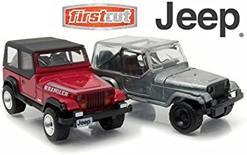 1987-95 Jeep Wrangler YJ Hobby Only Exclusive 2 Cars Set 1 64 by Grünlight 29822 by Jeep