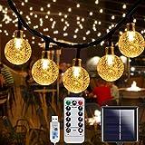 70LEDs Solar String Lights, 39ft Waterproof LED Garden Lights, Solar Fairy Lights Indoor