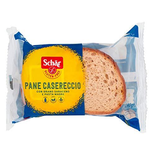 Schär Gluten Free Pan Payés Trigo Sarraceno sin Gluten, 5 Rodajas, 240g