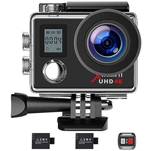 Campark Action Camera 4K WiFi Ultra HD Camera...
