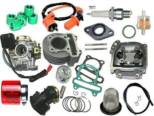 Unbranded. Tuning Zylinder 47mm VERGASER für REX RS 450 50 4T AC bis2017