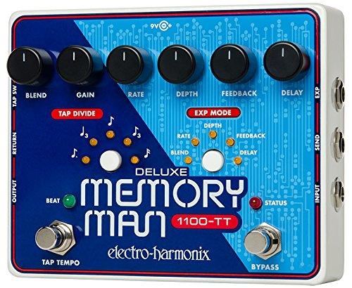 electro-harmonix 68327401117 2 Deluxe Memory Man Pedal - Pedal de efecto eco/delay/reverb...