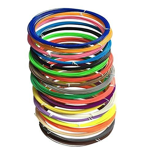 Chimique Filament For Diamètre Intérieur De 51 Mm De 1 Kg Médias Imprimante 3D PLA d'impression 3D en filament (Size : 5 roll)