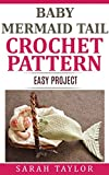 Baby Mermaid Tail Cocoon Crochet Pattern - Easy One Skein Project