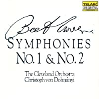 Beethoven: Symphonies No. 1 & No. 2 by Dohn聽nyi/Cleveland Orchestra (2003-10-28)
