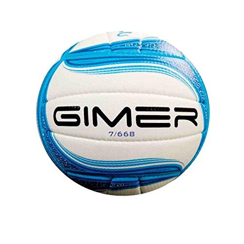 Gimer 7/668 Pallone Volley Soft, Blu Olimpico
