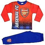 Jungen Arsenal Football Club Schlafanzüg Nachtwäsche Alter 4 -12 Jahre (5-6 Jahre, Möglichkeit 2)