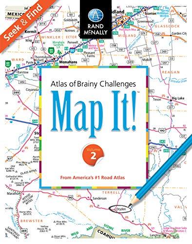Map It!TM Seek & Find Atlas of Brainy Challenges Volume 2