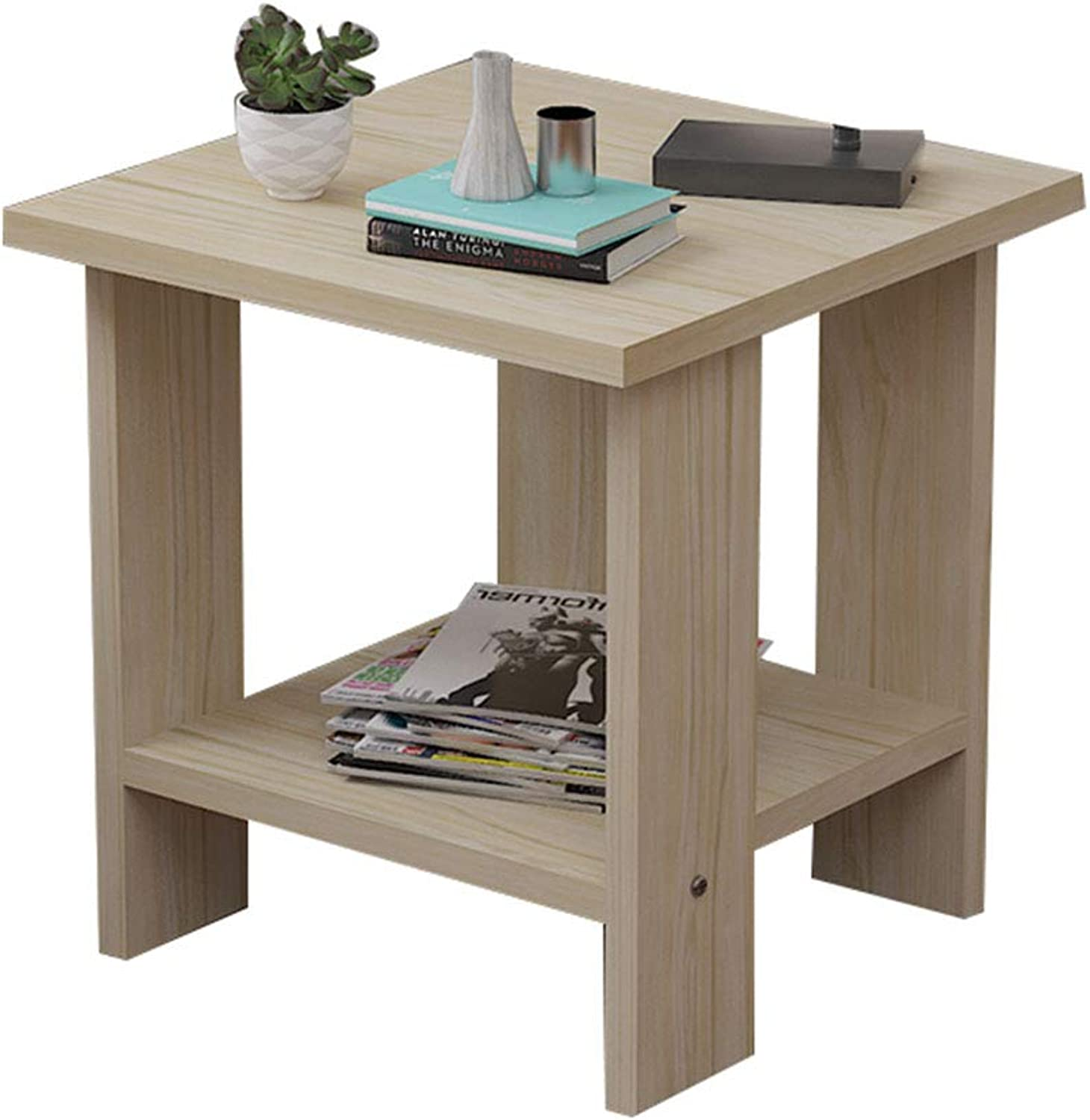 Coffee Table Coffee Table, Modern Simplicity Small Apartment Side Table,Square Table, Suitable for Living Room Sofa Side Bedroom Bedside (Size   30  30  32cm)