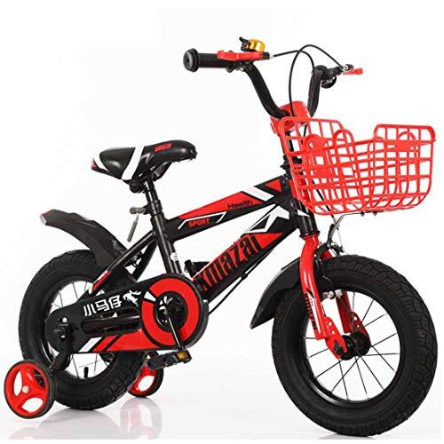 MUYU 12(14,16,18) Pulgadas Bicicleta Infantil Bicicleta Niños Niñas Bicicleta con Ruedines por...