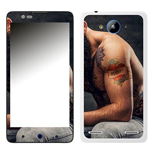 DISAGU SF-106526_1008 Design Folie für ZTE Blade L3 Plus - Motiv Mom - Tattoo