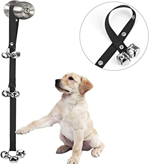 Luckyiren Upgraded Puppy Bells Dog Doorbells for Door Knob/Potty Training/Go Outside-Dog Bells for Puppies Dogs Doggy Doggie Pooch Pet Cat for Dog Lovers-Premium Quality