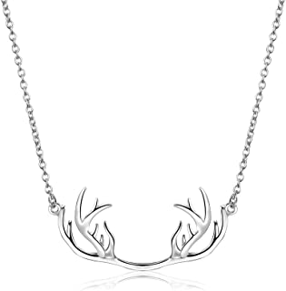Silver PlatedNecklace for Men and Women with Gift Box Perfect for Christmas