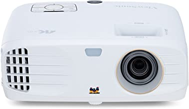 ViewSonic True 4K Projector with 3500 Lumens HDR Support and Dual HDMI for Home Theater Day and Night, Stream Netflix with...