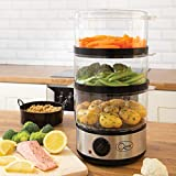 Best Food Steamers - Quest 35220 3 Tier Food Steamer / 7.2 Review