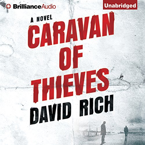 Caravan of Thieves audiobook cover art
