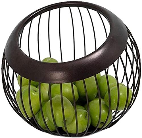 FAQUAN Cesta de Frutas Tazones de Frutas Tazón de Frutas Redondo Cesta de Frutas Moderna para Almacenamiento de Frutas Estante de Almacenamiento de Verduras, Estante de Almacenamiento de Cocina