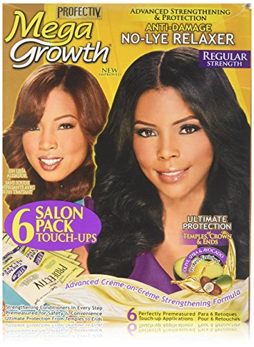 Profectiv Mega Growth Anti Damage No Lye Hair Regular Strength Relaxer