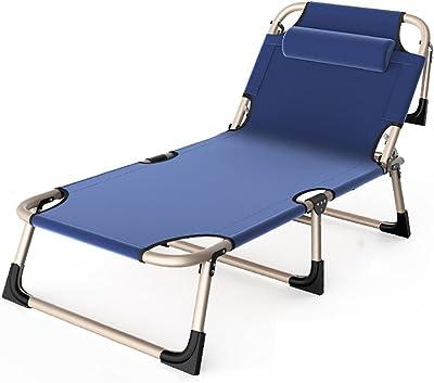Amazon.com: Silla de salón portátil, reclinable y ajustable ...