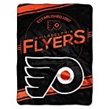 NHL Philadelphia Flyers 'Stamp' Raschel Throw Blanket, 60' x 80'