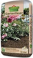 Florissa Natürlich 58728 Bio Gartenfaser (70 l) | vegan | Schützt vor Austrocknung und Unkraut | ideal für Hanglagen,...