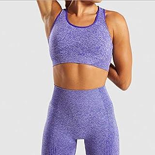 Beiziml Women Vital Seamless Yoga Set Gym Clothing Fitness Leggings+Cropped Shirts Sport Suit Women Long Sleeve Tracksuit ...